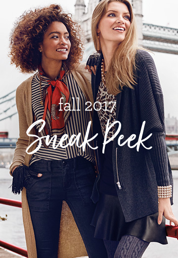 Fall 2017 Sneak peek.  View Now