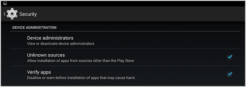android instruction